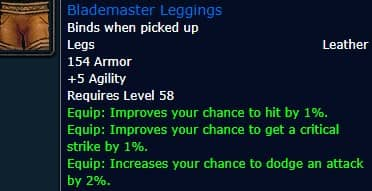 Blademaster Leggings