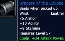Bracers of the Eclipse