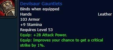 Devilsaur Gauntlets