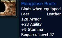 Mongoose Boots
