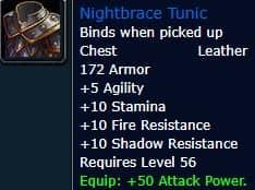 Nightbrace Tunic