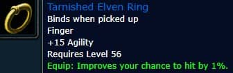 Tarnished Elven Ring